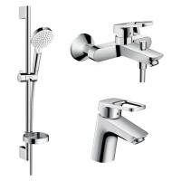Набор смесителей для ванной Hansgrohe LOGIS Loop 1042019