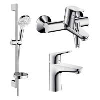 Набор смесителей для ванной Hansgrohe FOCUS 1092019
