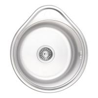 Кухонная мойка Lidz 4843 Micro Decor 0,6 мм (LIDZ4843MDEC06)