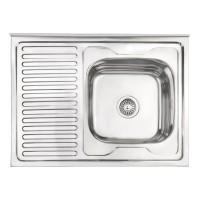 Кухонная мойка Lidz 6080-R Polish 0,6 мм (LIDZ6080RPOL06)
