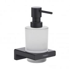 Дозатор для жидкого мыла Hansgrohe ADDSTORIS 41745670 черного матового цвета