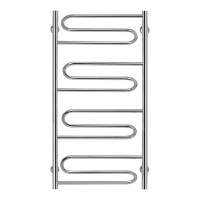 """Водяной полотенцесушитель Lidz Zigzag (CRM) D32/20х1/2"""" 500x1000 P4"""