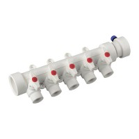 Коллектор 5-way с шаровыми кранами (40x20) PPR KOER K0172.PRO (KP0222)