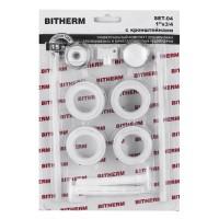 """Комплект для радиатора 3/4"""" (с креплениями) BITHERM SET-04 (BT0555)"""