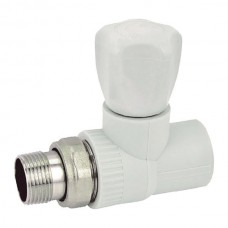 Вентиль радиаторный прямой PPR 20x1/2 (KOER K0165.PRO) (KP0213)