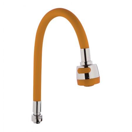 Излив силиконовый (оранжевый) ZERIX SPS-01 (ZX2627)