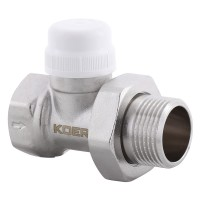 "Кран термостатический прямой KOER KR.923 - 1"" (KR2890)"