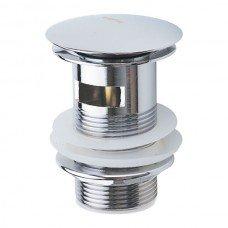 Донный клапан нажимной с переливом HAIBA (C0A11)