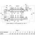 """Коллекторная группа Icma 1"""" 4 выхода, с расходомером №A2K013"""