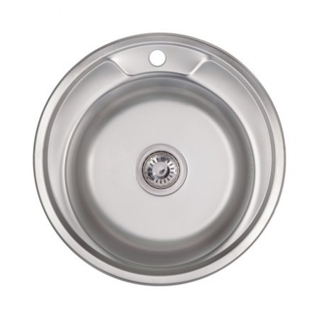 Кухонная мойка Lidz 490-A Polish 0,6 мм (LIDZ490A06POL)