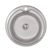 Кухонная мойка Lidz 510-D Satin 0,8 мм (LIDZ510DSAT)