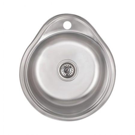 Кухонная мойка Lidz 4843 Satin 0,6 мм (LIDZ484306SAT)