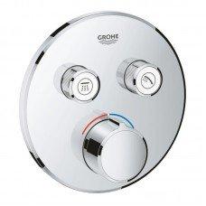 Внешняя часть смесителя для душа Grohe SmartControl 29145000 на два потребителя