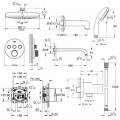 Душевая система Grohe Grohtherm SmartControl 34614SC2