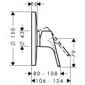 Внешняя часть смесителя для душа Hansgrohe Focus 31965000