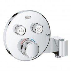 Внешняя часть термостатического смесителя для душа Grohe Grohtherm SmartControl 29120000 на два потребителя