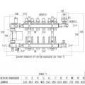 """Коллекторная группа Icma 1"""" 3 выхода, с расходомером №A3K013"""