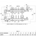 """Коллекторная группа Icma 1"""" 4 выхода, с расходомером №A3K013"""