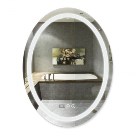 Зеркало Q-tap Mideya LED DC-F801 с антизапотеванием 600х800