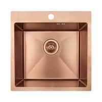 Кухонная мойка Imperial Handmade D5050BR 2.7/1.0 мм (IMPD5050BRPVDH10)