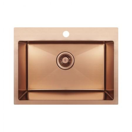 Кухонная мойка Imperial Handmade D5843BR 2.7/1.0 мм (IMPD5843BRPVDH10)