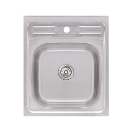 Кухонная мойка Lidz 5060 Decor 0,6 мм (LIDZ506006DEC)